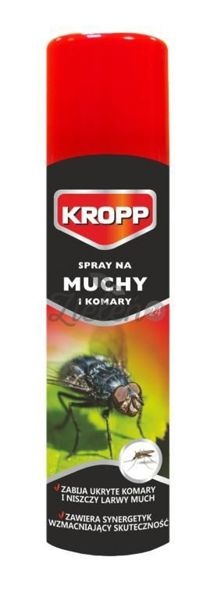 Spray na muchy i komary 400ml Kropp